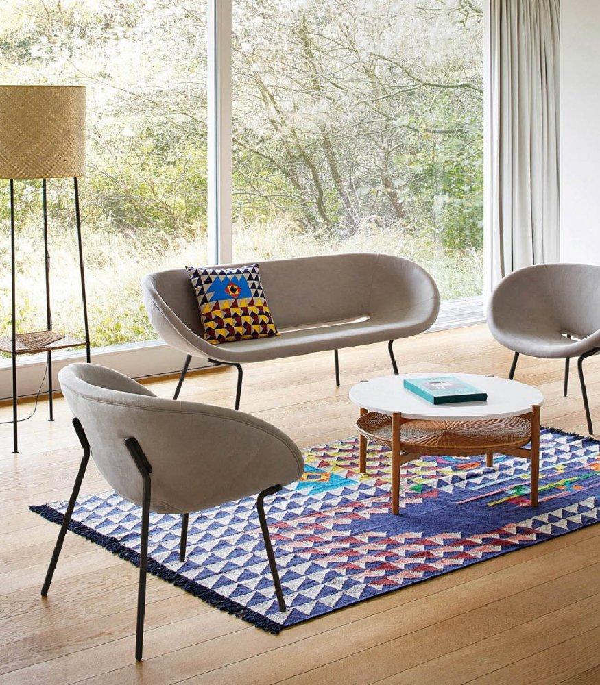 sofa braun fabulous wildleder sofa ofel ijah with sofa. Black Bedroom Furniture Sets. Home Design Ideas